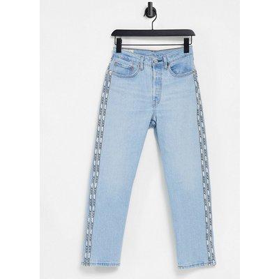 Levi's – 501 – Kurz geschnittene Jeans in Hellblau   LEVI'S SALE