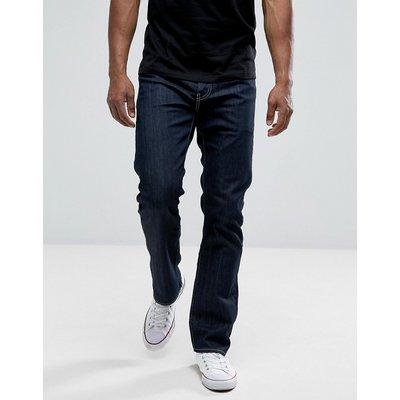LEVI'S Levis – 504 – Regulär geschnittene, gerade Jeans-Blau