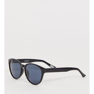 Levi's – Retro-Sonnenbrille mit schwarzem Rahmen und polarisierten Gläsern in Grün