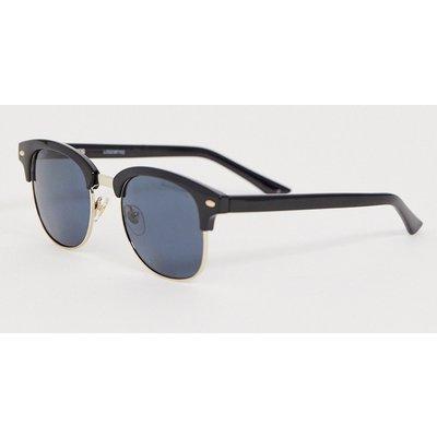 Levi's – Schwarze Retro-Sonnenbrille mit polarisierten Gläsern