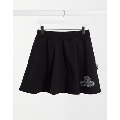 Love Moschino logo a-line skirt in black