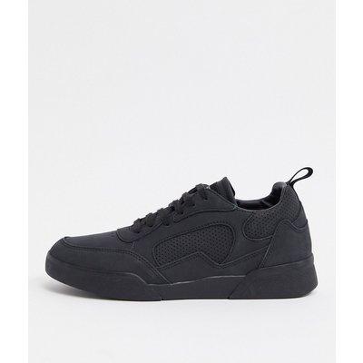 Lyle & Scott – Schwarze Sneaker