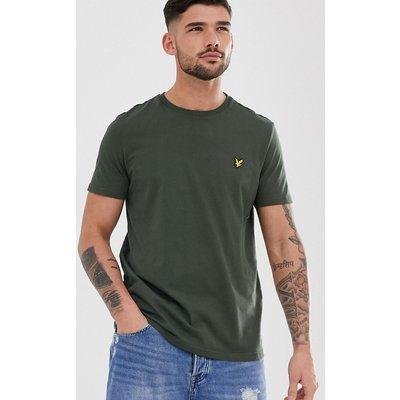 Lyle & Scott – T-Shirt mit Rundhalsausschnitt-Grün