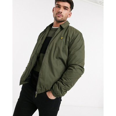 Lyle & Scott – Wattierte Harrington-Jacke-Grün