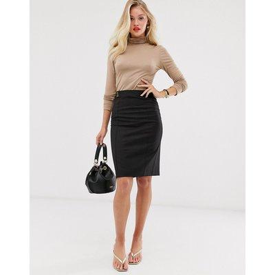 Mango pencil skirt in black