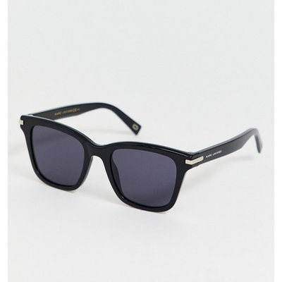 Marc Jacobs – Eckige Sonnenbrille mitAcetat-Gestell in Schwarz