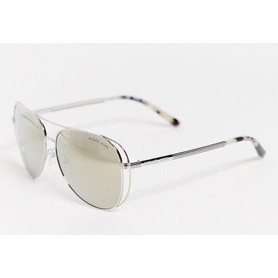 Michael Kors – MK1024 – Piloten-Sonnenbrille-Grau