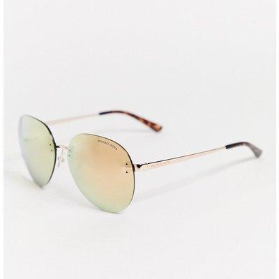 Michael Kors – MK1037 – Piloten-Sonnenbrille-Gold