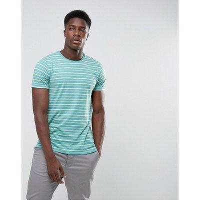 Minimum – Oxley – Gestreiftes T-Shirt-Blau
