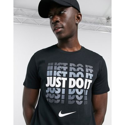Nike – JDI Shadow – T-Shirt in Schwarz | NIKE SALE