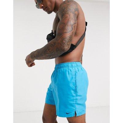 Nike – Lap– Volley-Shorts in Hellblau, 5 Zoll