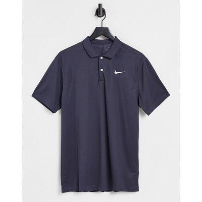 Nike – Solid – Marineblaues Polohemd-Weiß | NIKE SALE
