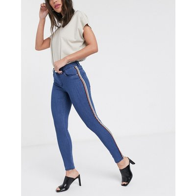 Only – Rain – Knöchellange Skinny-Jeans-Blau