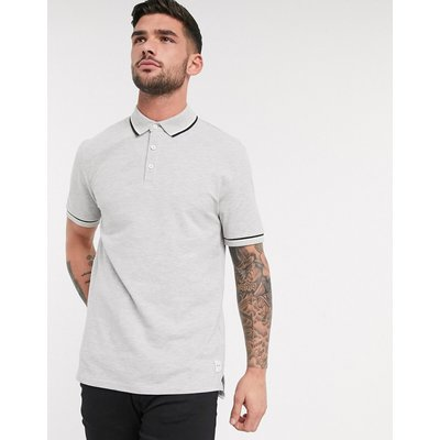 Only & Sons – Schmal geschnittenes Polohemd-Grau | ONLY & SONS SALE