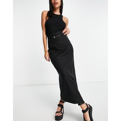 & Other Stories co-ord maxi skirt in black