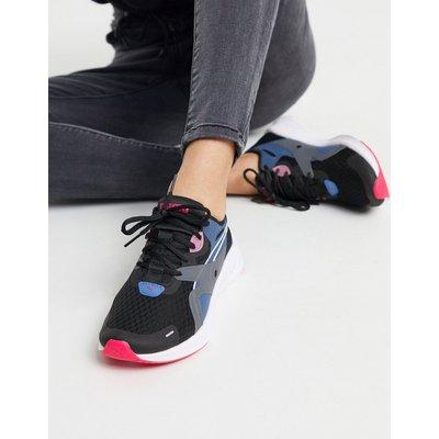 Puma – Hybrid Fugeo – Schwarze Sneaker
