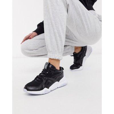 Puma – Nova 2 – Sneaker in Schwarz und Grau