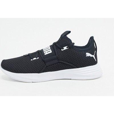 Puma – Persist XT – Strick-Sneaker in Schwarz