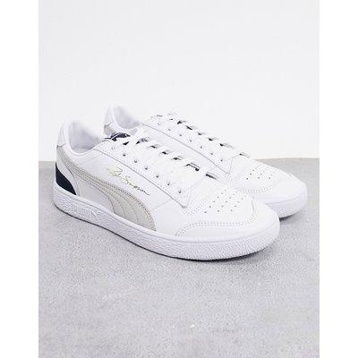 Puma – Ralph Sampson OG – Niedrige Sneaker in Schwarz und Grau-Mehrfarbig