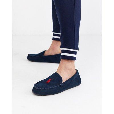 Ralph Lauren – Desi– Marineblaue Mokassins-Navy