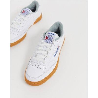 Reebok Classics – Club C 85 – Weiße Sneaker mit Gummisohle