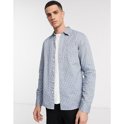 Scotch & Soda – Blauw – Langärmliges Shirt