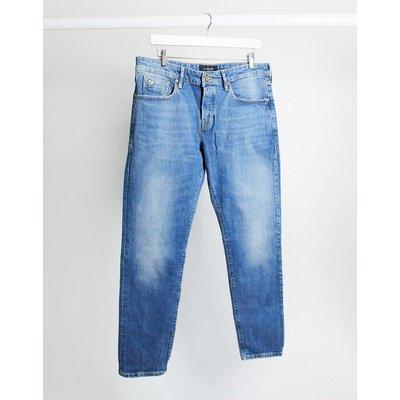 Scotch & Soda – Ralston – Schmal geschnittene Jeans-Blau