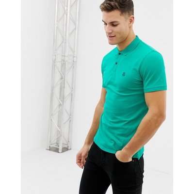 SELECTED Seleceted Homme – Klassisches Polohemd-Grün