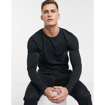 Selected Homme – Langärmliges Shirt-Schwarz