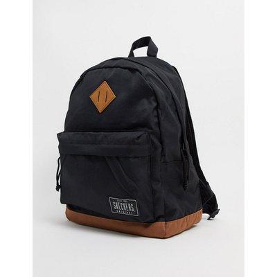Skechers – Schwarzer Backpack mit Logodetail