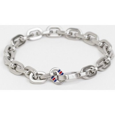 Tommy Hilfiger – Armband mit Kettendesign-Silber