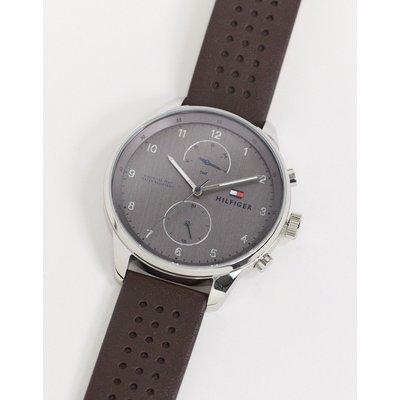 Tommy Hilfiger – Chase – Armbanduhr in Schwarz