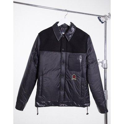 Tommy Hilfiger Collections – Jacke im Hemd-Look-Schwarz