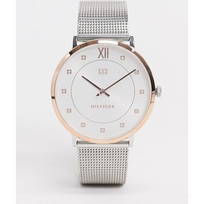 Tommy Hilfiger – Sloane – Zweifarbige Armbanduhr-Silber
