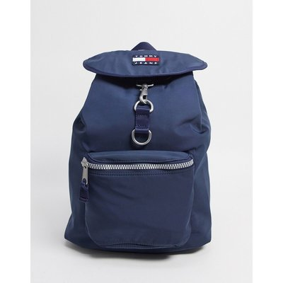 TOMMY HILFIGER Tommy Jeans – Heritage – Backpack in Marine-Blau
