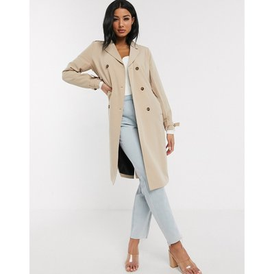 Unique21 – Trenchcoat mit Gürtel, in Sand-Braun | UNIQUE21 SALE