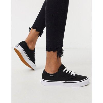 Vans – Camden – Sneaker in Schwarz & Weiß gestreift
