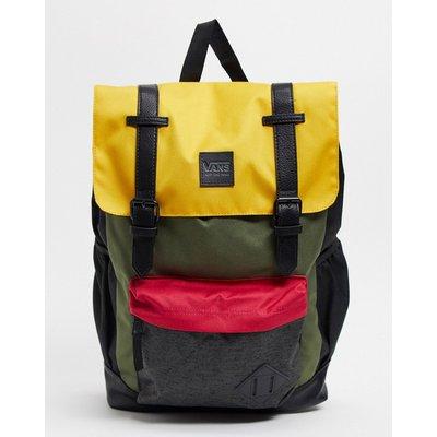 Vans – Crosstown – Backpack in Mango-Mojito-Mehrfarbig