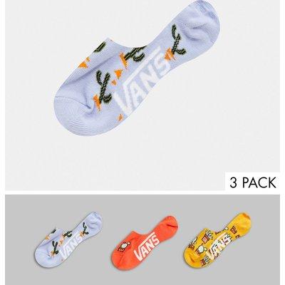 Vans – Desert Vibe Canoodle – Bunte Socken im 3er-Pack-Mehrfarbig