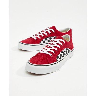 VANS Vans – Lampin – Rote Cord-Sneaker, VA38FIU9E