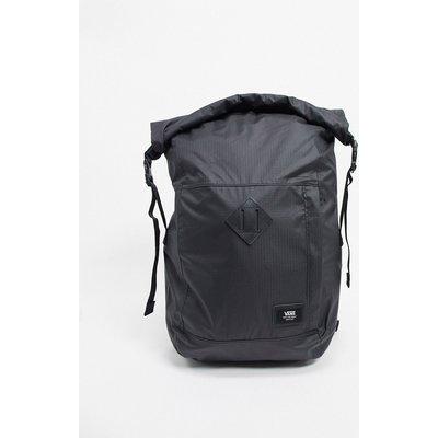 VANS Vans – Mens Fend – Rucksack mit gerolltem Umschlag in Schwarz