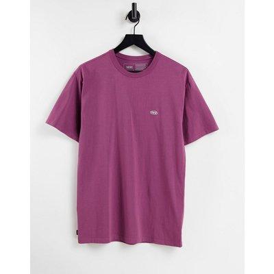 Vans – Off The Wallcolour Multiplier – T-Shirt in Lila-Rot   VANS SALE