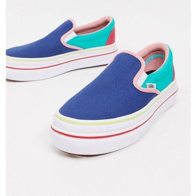 Vans – Superbequeme Sneaker zum Hineinschlüpfen-Blau   VANS SALE