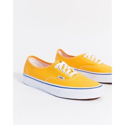 Vans – UA Authentic – Sneaker in Gelb