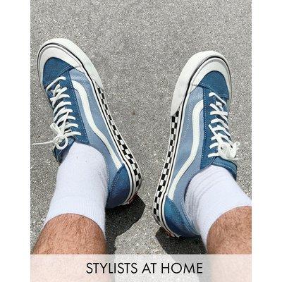 Vans – UA Style 36 Decon SF – Sneaker in Stargazer/Lead-Blau
