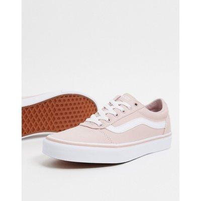 Vans – Ward – Sneaker aus Stoff in Rosa