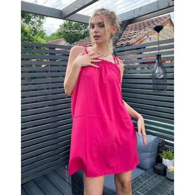 Vero Moda – Camisole-Kleid in Rosa mit Schulterschnürung | VERO MODA SALE