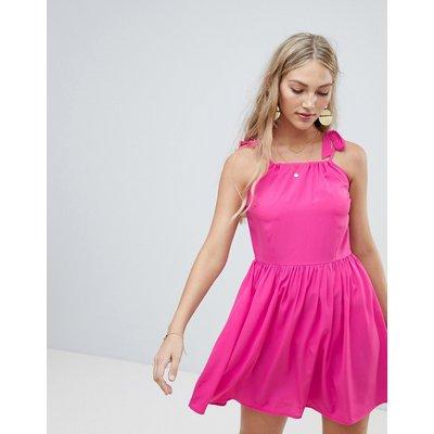 Vero Moda – Camisole-Kleid mit Schulterschleifchen-Rosa