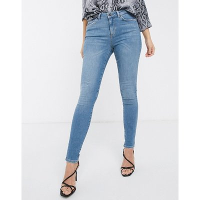 Vero Moda – Enge Jeans-Blau
