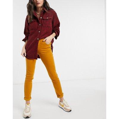 Vero Moda – Enge Jeans in Braun | VERO MODA SALE